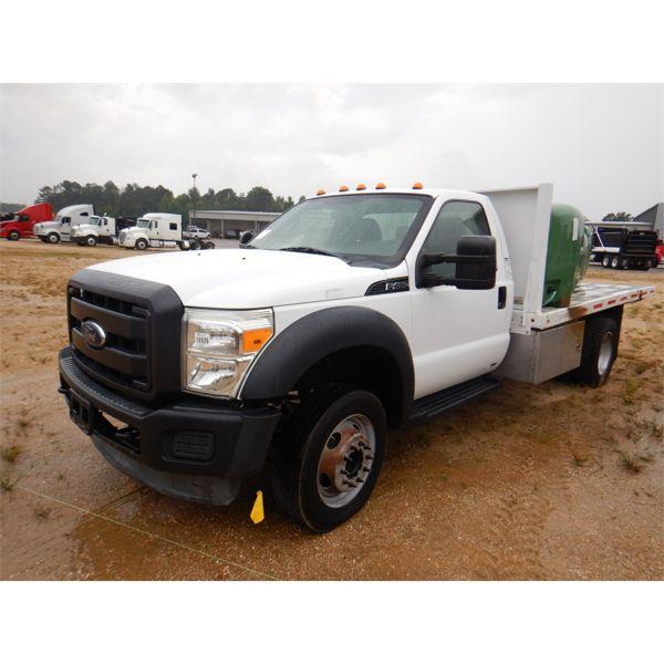 2012 FORD F450 XL Flatbed Truck