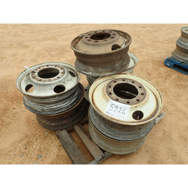 (7) TRUCK TRACTOR RIMS (A2)