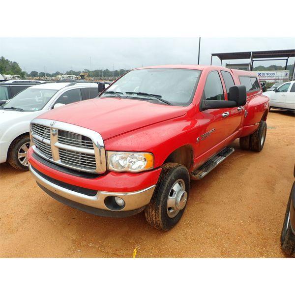 2004 DODGE RAM 3500 HEAVY DUTY Pickup Truck