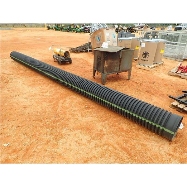 20' LONG CORRUGATED PVC PIPE