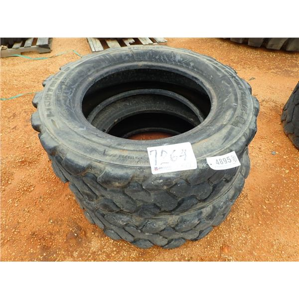 (2) 370/75-28 TIRES (NOT FOR HIGHWAY USE)