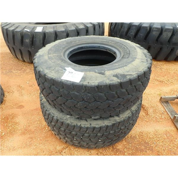 525/80R25 TIRES  (NOT FOR HIGHWAY USE)