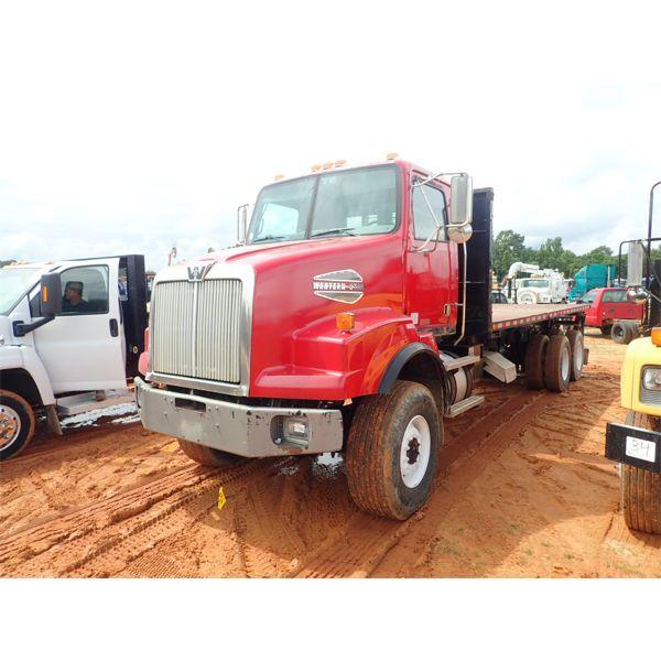2007 WESTERN STAR 4900FA Flatbed Dump Truck