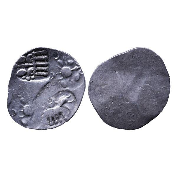 Ancient India: Kalinga Janapada, Archaic Punch Marked Coingae, Silver Karshapana, 3.26gms