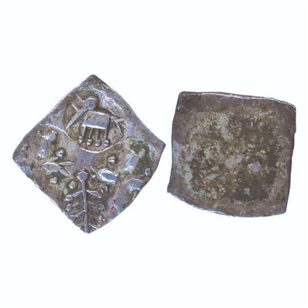 Ancient India: Ashmaka Janapada, Archaic Punch Marked Coinage, Nasik Area, Silver ½ Karshapana, 1.46