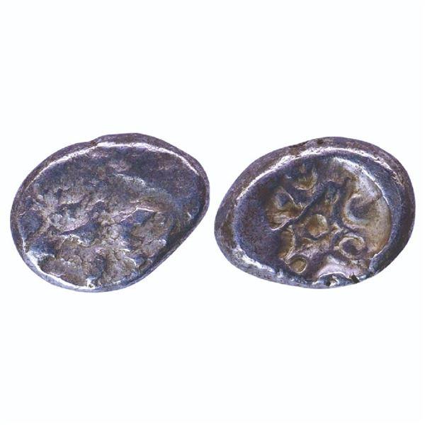 Ancient India: Matsya Janapada, Archaic Punch Marked Coinage, Silver Karshapana, 2.74gms