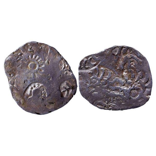 Ancient India: Kashi Janapada under Kosala Janapada, Archaic Punch Marked Coinage, Silver Vimshatika