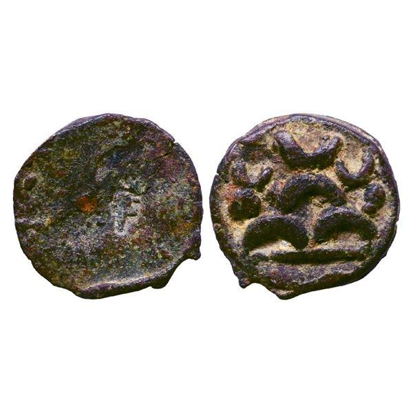 Ancient India: Post-Maurya, Deccan Area, Cast Copper, 6.08gms