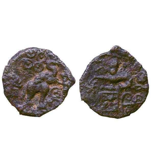 Ancient India: Post-Mauryan , City State, Suktimati (c. 200 BC), Cast Copper, 4.15gms