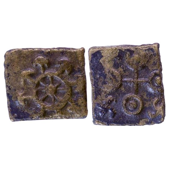 Ancient India: Pre-Satavahana, Uninscribed type, Vidarbha Region, Bronze Unit, 3.16gms