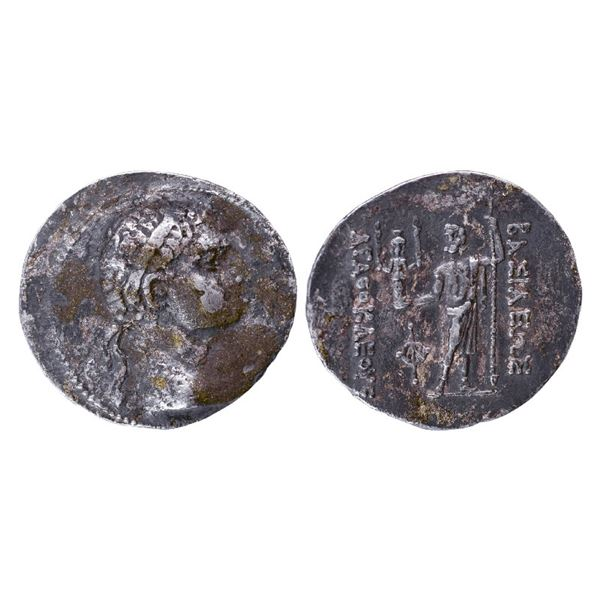 Ancient India: Indo-Greek, Bactria, Agathocles (c. 361-289 BC), Silver Tetradrachms, 15.11gms