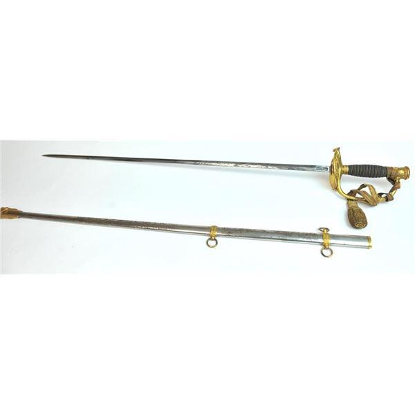 21BS-9 1860 STAFF & FIELD SWORD