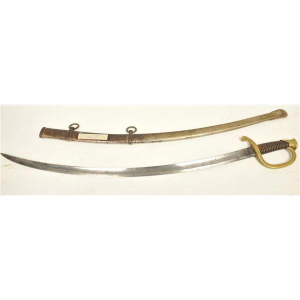 21BG-A188 1840 ARTILLERY  SWORD