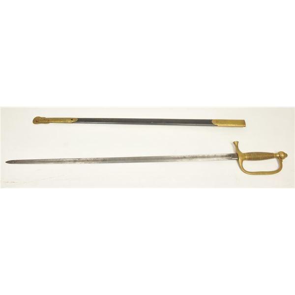 21BG-A169 CIVIL WAR MUSICIAN'S SWORD