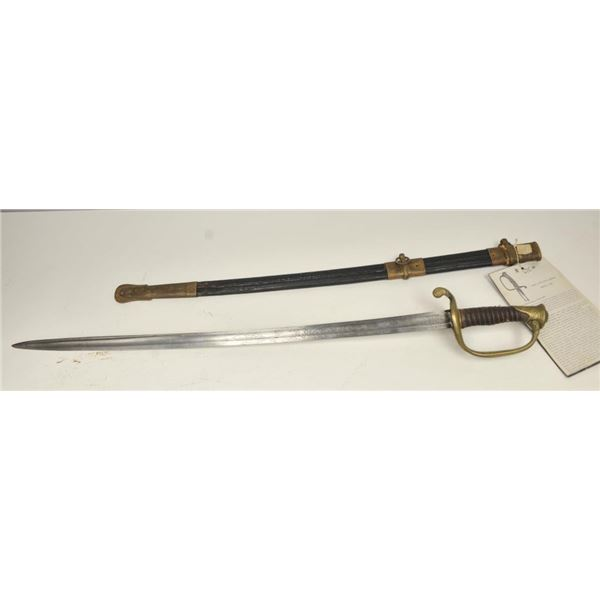 21BG-A168 1850 OFFICER SWORD