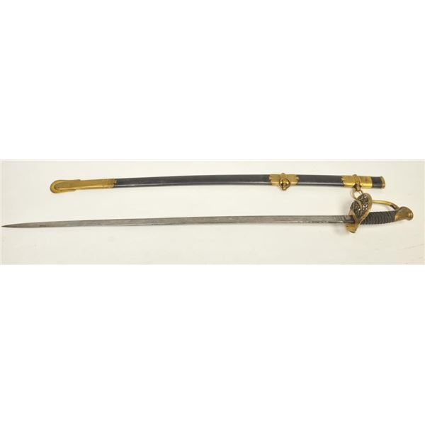 21BG-A173 1850 AMES OFFICER SWORD