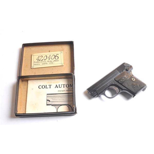 21BX-2 COLT 1908 #420406