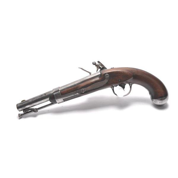 21BG-A99 FLINTLOCK PISTOL DATED 1838