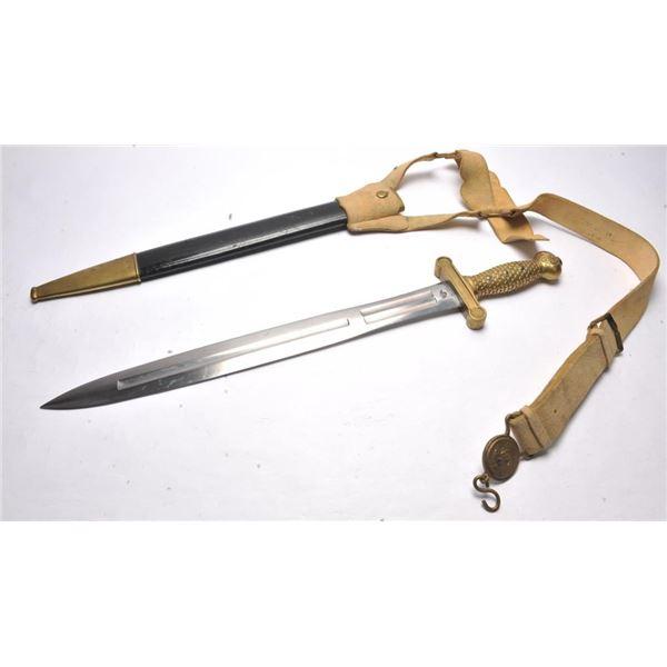 21BS-10 ARTILLERY SWORD 1833