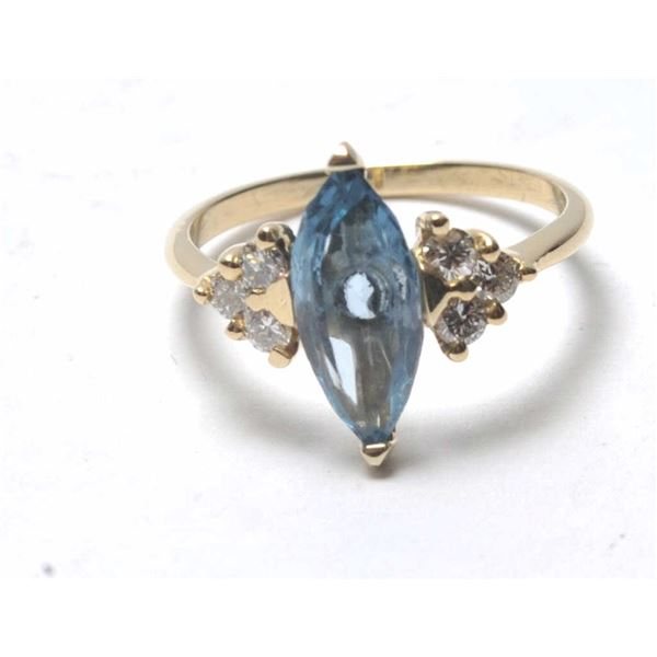 21RPS-6 VINTAGE DIAMOND RING