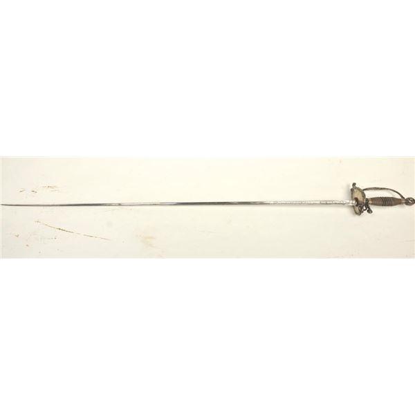 21BG-A154 SILVER MTD SMALL SWORD