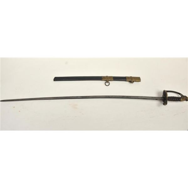 21BG-A221 CONFEDERATE OFFICER SWORD
