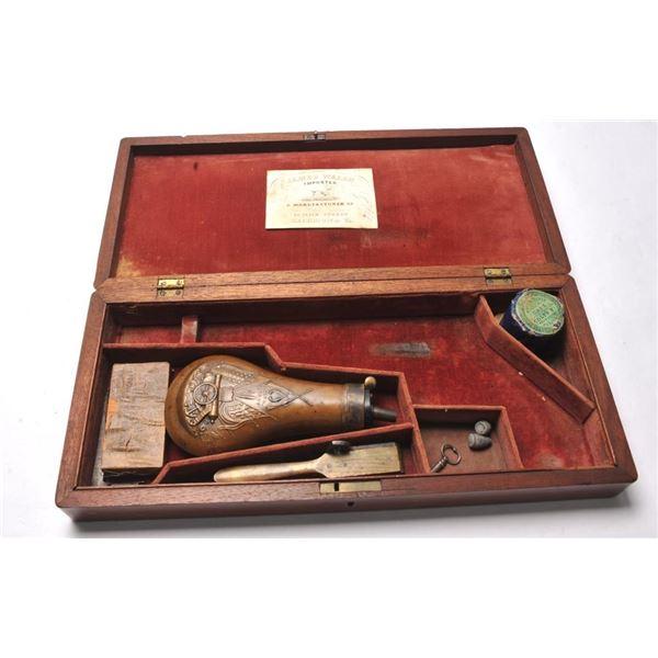 21BL-3 COLT 1851 SMALL GUARD CASE W/ACC.