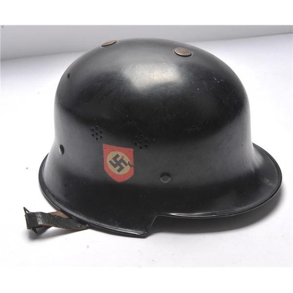 21BH-3 GERMAN POLICE HELMET