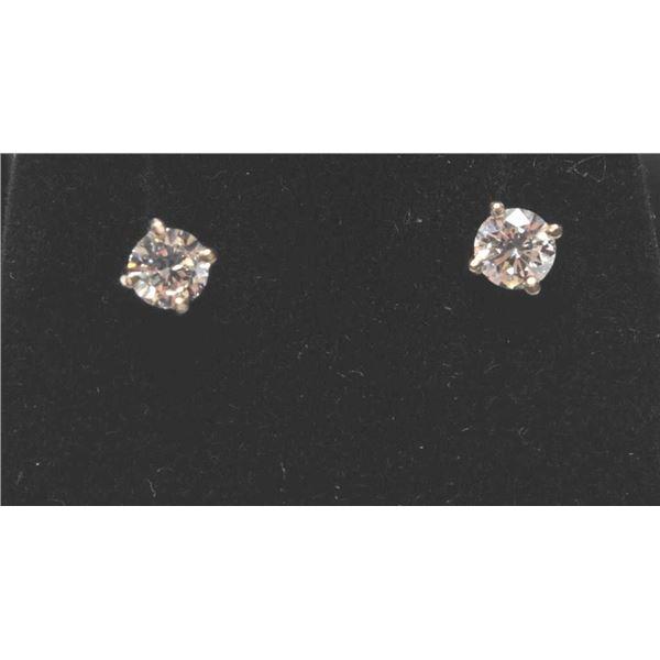 21RPS-7 DIAMOND STUD EARRINGS