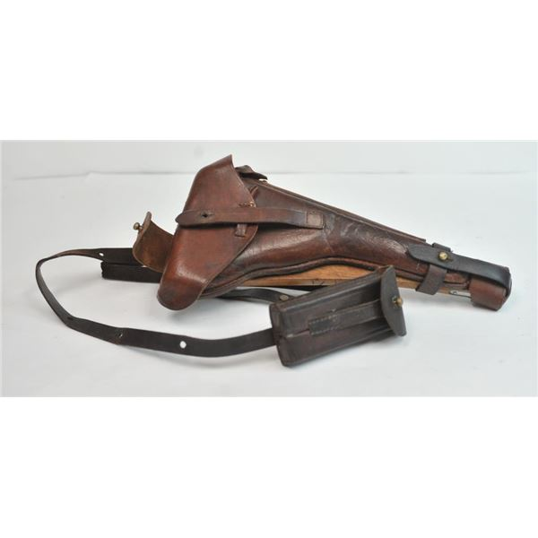 21CX-9 LUGER STOCK W/ HOLSTER