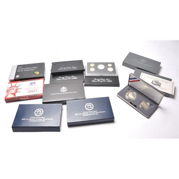 21CN-7 7 SILVER PROOFS