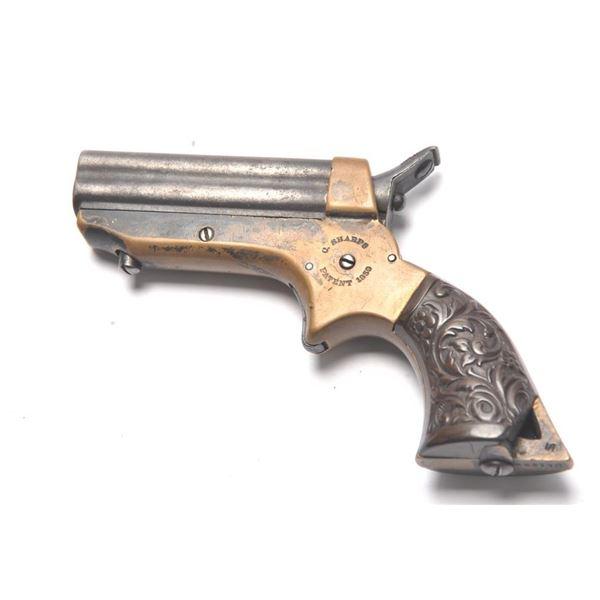 21BG-A255 SHARPS 4 SHOT DERRINGER  #45776