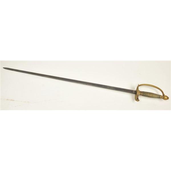 21BG-A271 1860 NON-COMM. SWORD AMES 1864