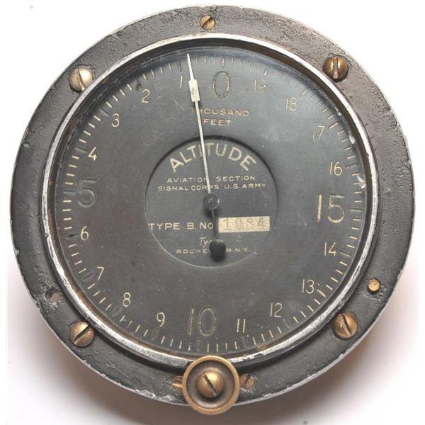 21BM-5 WWI AIRPLANE ALTIMETER