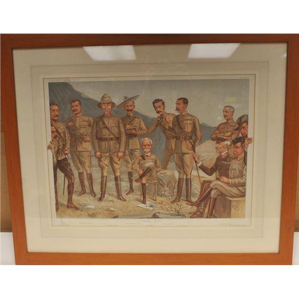 21BM-1 1900 LITHO OF BRITISH GENERALS