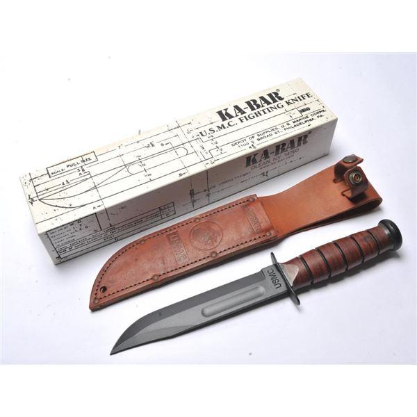 21AD-2 KA-BAR IWO JIMA COMM. KNIFE