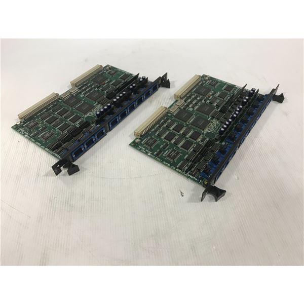 (2) OKUMA E4809-045-158-C CIRCUIT BOARDS