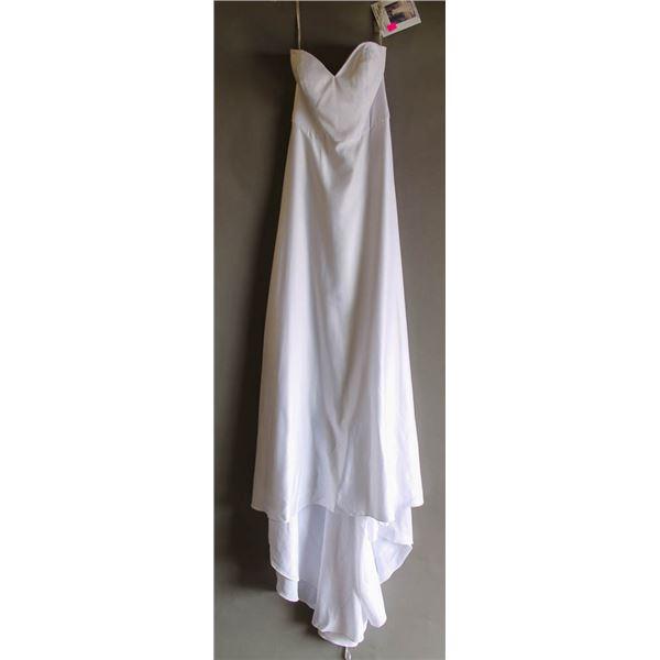 WHITE MAGGIE SOTTERO BRIDAL GOWN; SIZE 8,