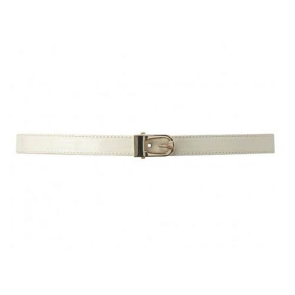 FEVER LONDON MATOID BELT; CREAM SIZE M