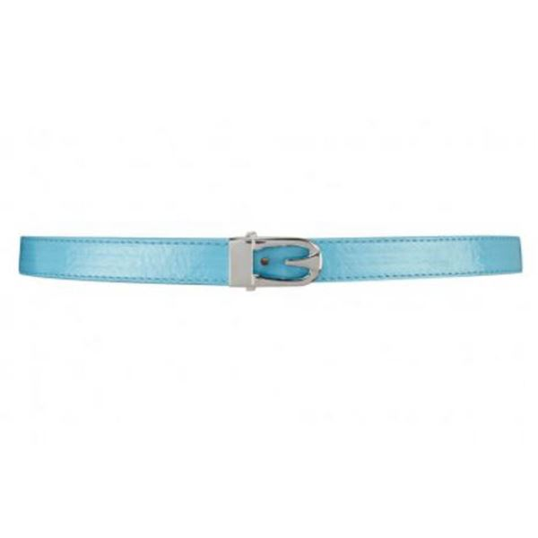 FEVER LONDON MATOID BELT; SKY BLUE SIZE M/L