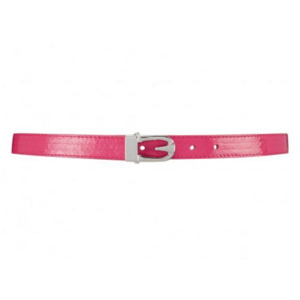 FEVER LONDON MATOID BELT; ROSEHIP SIZE M/L