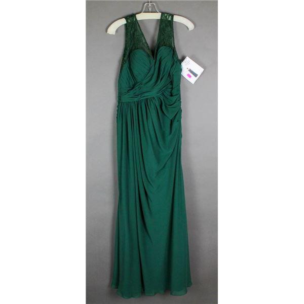 GREEN VENUS DESIGNER FORMAL DRESS SIZE 16