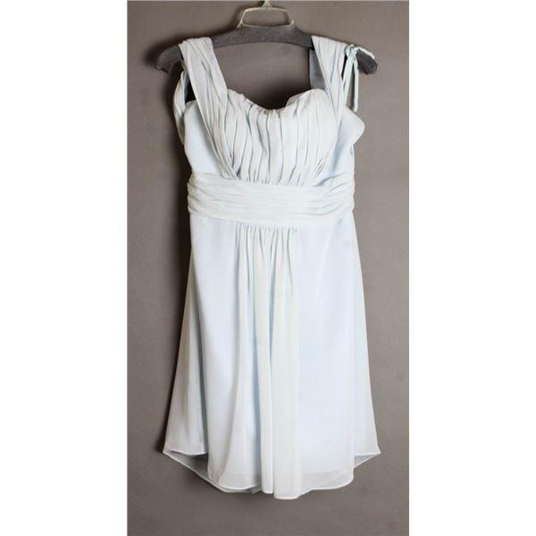 POWDER BLUE VENUS FORMAL DESIGNER DRESS SIZE 18