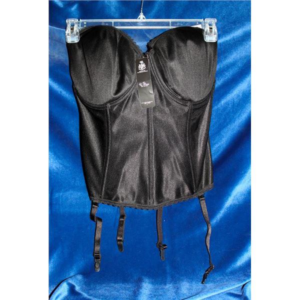VA BIEN CORSET; BLACK- 38DDD STYLE #513