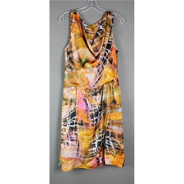 TROPICAL BREEZE CONRAD C DESIGNER FORMAL DRESS;