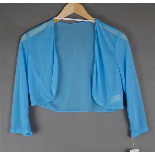 BLUE SHEER JOLENE WOMEN'S FORMAL JACKET;