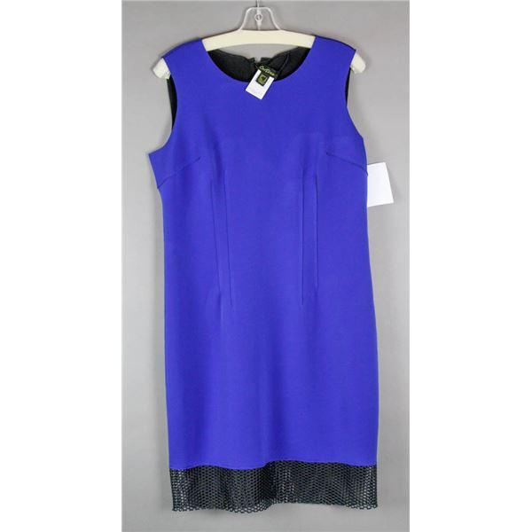 ROYAL BLUE CARTISE FORMAL DESIGNER DRESS W