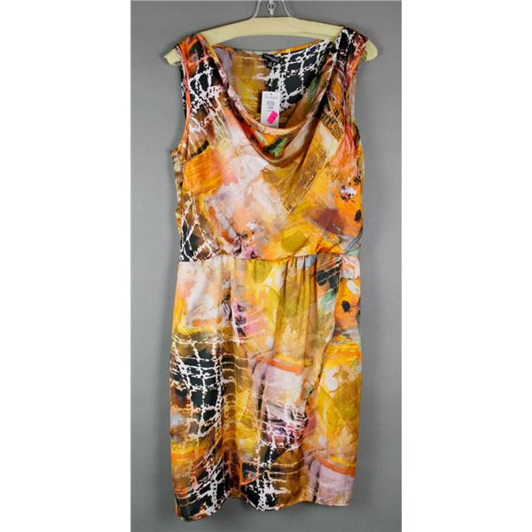 TROPICAL BREEZE CONRAD C DESIGNER DRESS;