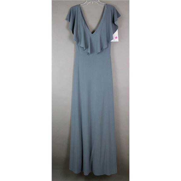 SLATE SORELLA VITA FORMAL DESIGNER DRESS;