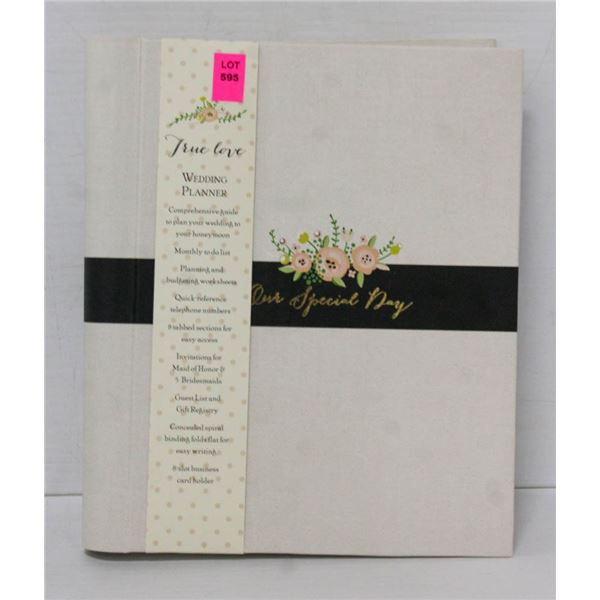 "C. R. GIBSON -TRUE LOVE WEDDING PLANNER ""OUR"